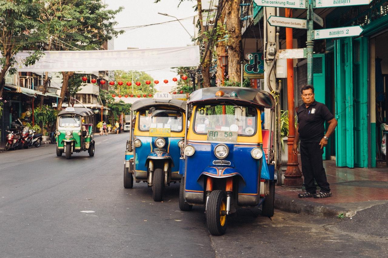 Cidade mais visitadas do mundo - Bangkok