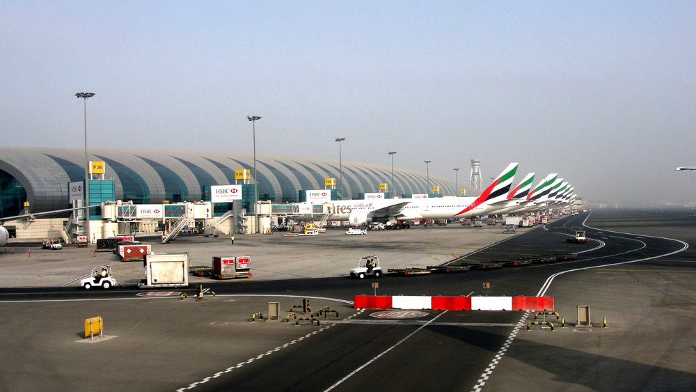 Aeroporto de Dubai-International-Airport